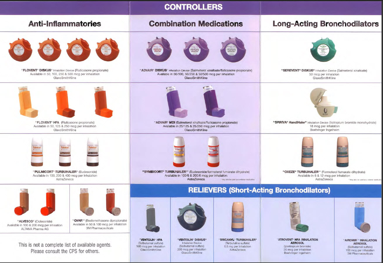 Inhaler for asthma: types, names, instructions for use. Which inhaler is better 2